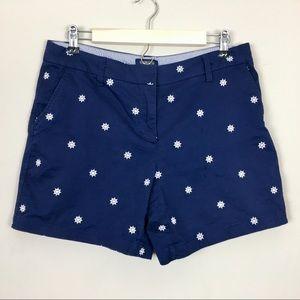 British Khaki nautical sailing shorts 8